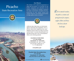Picacho State Recreation Area Map