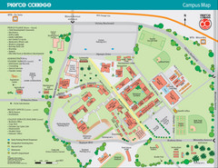 Pierce College Campus Map