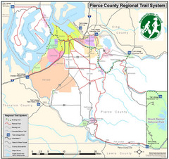 Pierce County Regional Trail Map