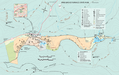 Pine Grove Furnace State Park map