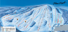 Pine Knob Ski Resort Ski Trail Map