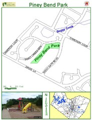 Piney Bend Park Map