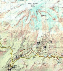 Pinnacle Saddle Trail Map