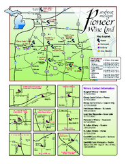 Pioneer Wine Trail Map