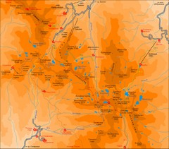 Pirin Mountains Chalet Map