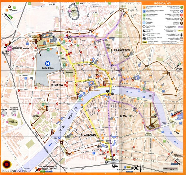 verona tourism map - photo#36