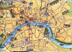 Pisa Tourist Map