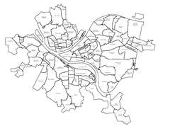 Pittsburgh neighborhoods Map