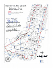 Pittsfield,, Massachusetts City Map