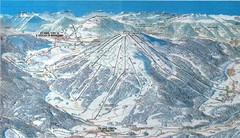 Plan de Corones Ski Trail Map