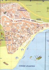 Playa Del Ingles Tourist Map