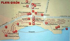 Playa Giron Map