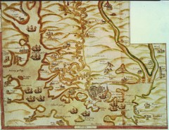 Plymouth Map 1500s