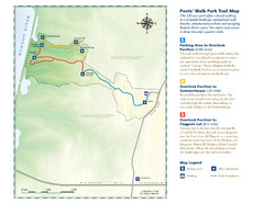Poets Walk Trail Map
