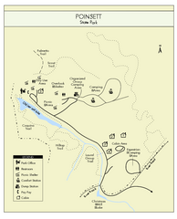 Poinsett State Park Map
