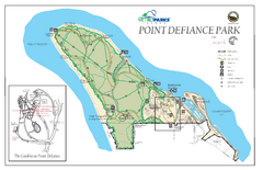 Point Defiance Park Map