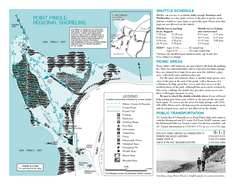 Point Pinole Regional Shoreline Map