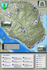 Point Pleasant Park Map