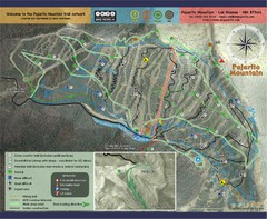 Pojarito Mountain bike Trail Map