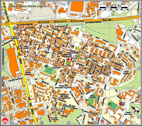 Pomezia Italy  city photo : Pomezia Tourist Map Pomezia Italy • mappery