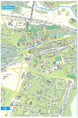 Poprad Tourist Map