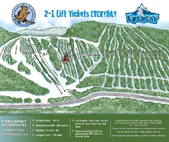Porcupine Mountain Ski Trail Map