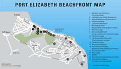 Port Elizabeth Beachfront Map