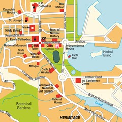 Port Victoria city Map