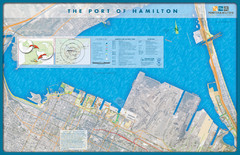 Port of Hamilton Map