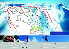Porters Ski Trail Map