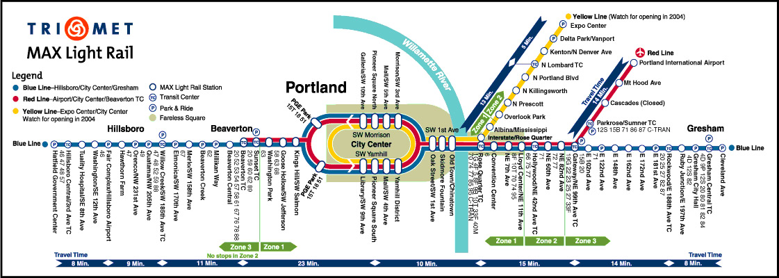 Image Gallery Light Rail Map