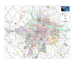 Portland, Oregon Tourist Map