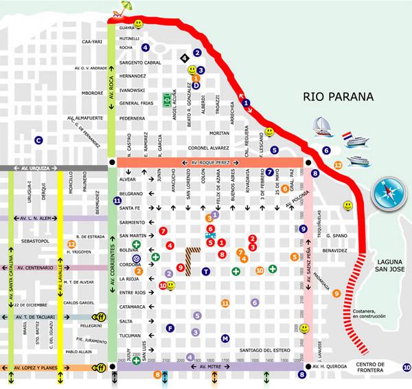 Posadas Map Posadas Argentina Mappery - Argentina misiones map