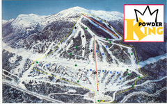 Powder King Ski Trail Map