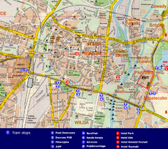 Poznan City Map