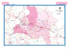 Prachinburi, Thailand Map