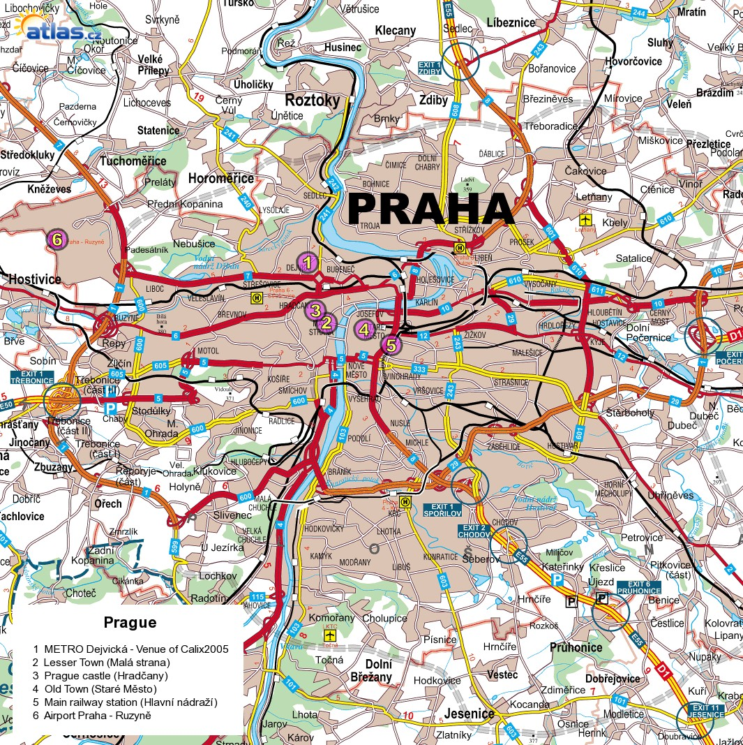 Prague Czech Republic Tourist Map Prague Czech Republic mappery – Tourist Map of Prague