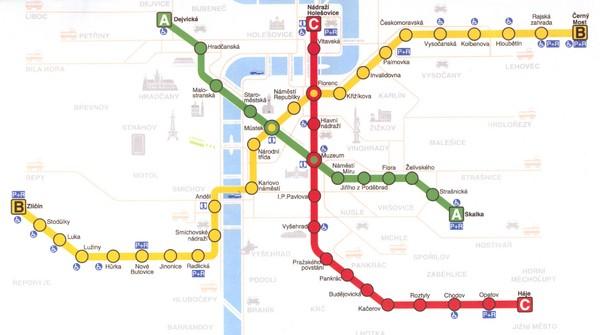 Prague Metro Map Pdf.Praha Maps Mappery