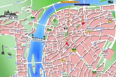 Prague Old Town Map