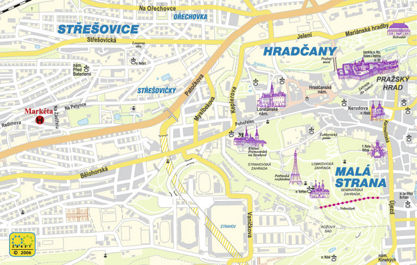 Prague Tourist Map Prague mappery – Tourist Map of Prague