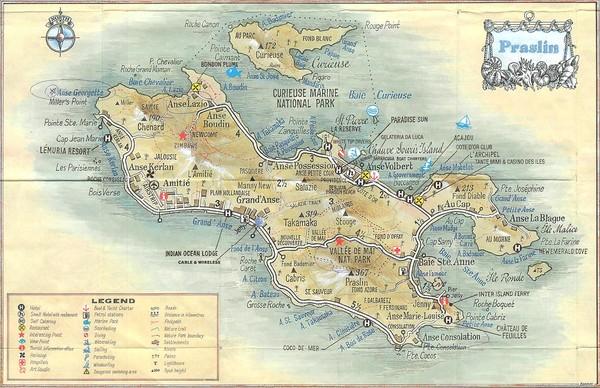 Samal Island Map Satellite