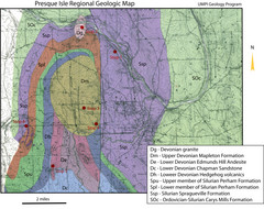 Presque Isle Geologic Map