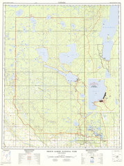 Prince Albert National Park Topo Map