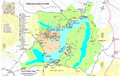 Prince Gallitzin State Park Map