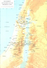 Promised Land Hebrew Settlement Map