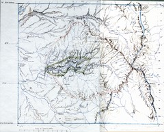 Proposed Yosemite National Park Map 1890