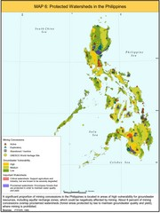 Protected Watersheds in the Philippines Map