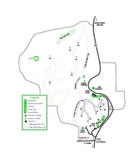 Providence Canyon State Park Map