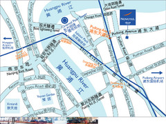 Pudong Hotel Map