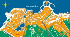 Puerto de la Cruz Tenerife Map